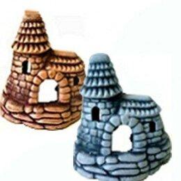 Замки - Замок с высокой крышей С14 керамика (камень), 0