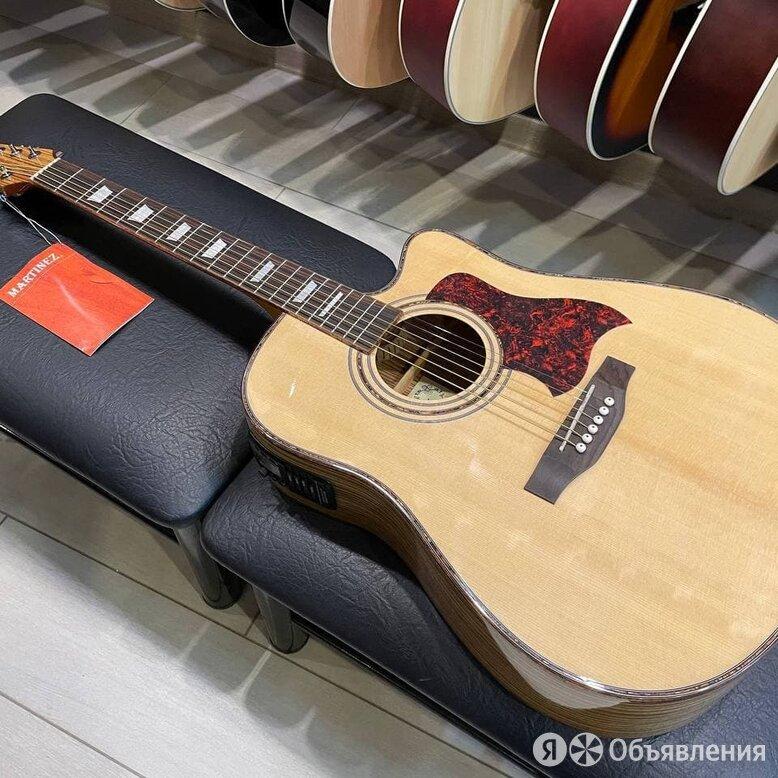 Martinez электроакустическая гитара с вырезом по цене 13900₽ - Акустические и классические гитары, фото 0