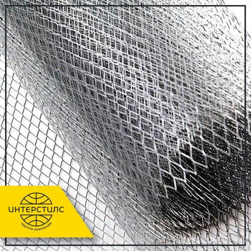Сетка просечно-вытяжная 8x8x1,2 мм 0,5 мм оцинк. по цене 143₽ - Металлопрокат, фото 0