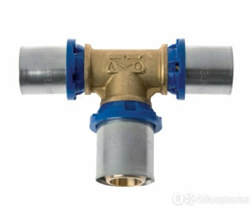PRANDELLI Прессовой тройник переходной 26х16х26 по цене 592₽ - Водопроводные трубы и фитинги, фото 0