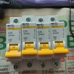 Пускатели, контакторы и аксессуары - Автоматический выключатель iek c25, 0