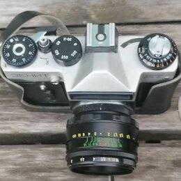 Пленочные фотоаппараты - Фотоаппарат зенит ет, 0