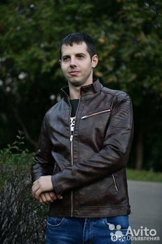 Куртка мужская кожзам по цене 5500₽ - Костюмы, фото 0