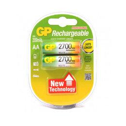 Батарейки - АА Аккумулятор «GP» 2700мАч, 2шт, цена за 1шт, 0