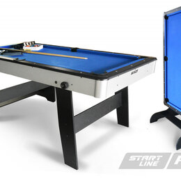Столы - Стол бильярдный Start Line Компакт SLP 6 ПУЛ, 0
