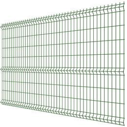 Заборы, ворота и элементы - Панель MEDIUM 1,73х3,00м RAL6005 Зеленый Мох сварная 3Д сетка гиттер, 0