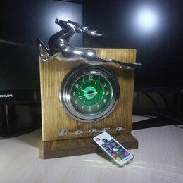 Часы настольные и каминные - Часы Волга ГАЗ-21 в интерьер подарок для волговода, 0