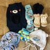 Вещи на мальчика пакетами 62-80 по цене 2700₽ - Комплекты, фото 3