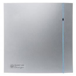 Вентиляционные решётки - Soler&Palau Вентилятор Soler&Palau Silent-300 CZ Design PLUS Silver бесшумный..., 0
