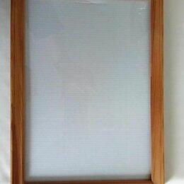 Фоторамки - Деревянная рамка со стеклом, 0