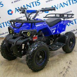 Электромобили - Детский квадроцикл Avabtis (Авантис) ATV Classic E 800W New, 0