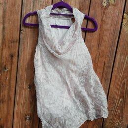 Блузки и кофточки - Шелковая блуза без рукавов размер L, 0