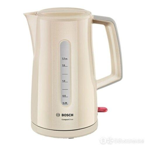 Чайник Bosch TWK 3A017, бежевый по цене 1600₽ - Электрочайники и термопоты, фото 0