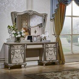 Столы и столики - Туалетный столик Tiffany Art с зеркалом в стиле Ар Деко , 0