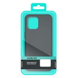 Чехлы - Чехол BoraSCO Silicone Case матовый для Samsung (A035) Galaxy A03s черный, 0