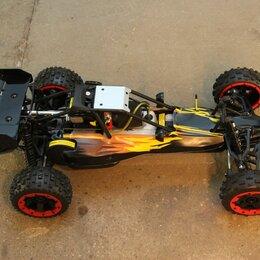 Радиоуправляемые игрушки - Новая бензиновая RC модель Rovan Baja 5B 29cc, 0