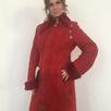 Дубленка женская на молнии, цв.Красный р.44-46 /10866/ по цене 5500₽ - Строительные смеси и сыпучие материалы, фото 0