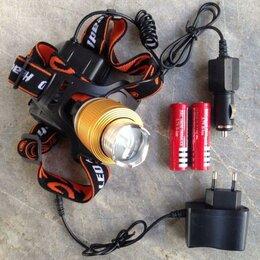 Аксессуары и комплектующие - Фонарь налобный аккумуляторный Патриот SL-33 Zoom, 0
