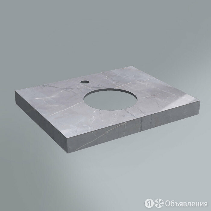 Столешница из плитки Kerama Marazzi Canaletto 60 см серый по цене 10500₽ - Комплектующие, фото 0