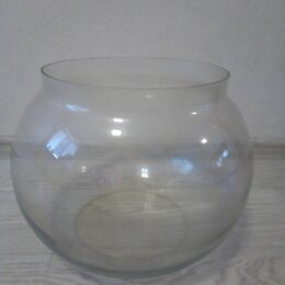 Аквариумы, террариумы, тумбы - Круглый аквариум 20 литров, 0