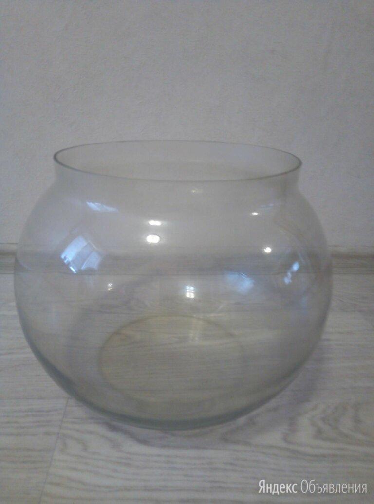 Круглый аквариум 20 литров по цене 1500₽ - Аквариумы, террариумы, тумбы, фото 0