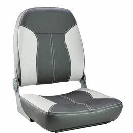 Походная мебель - Кресло складное мягкое SPORT с высокой спинкой, серый/темно-серый, 0
