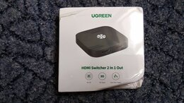 Кабели и разъемы - 4K60 hdmi переключатель Ugreen CM333, 0