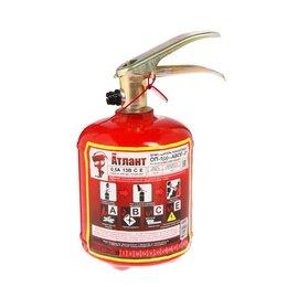 Противопожарное оборудование и комплектующие - Огнетушитель порошковый 'Атлант' ОП-1 (з), АВСЕ, 0