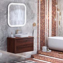 Столы и столики - Мебель для ванной Opadiris Престиж 90 орех антикварный + раковина, 0