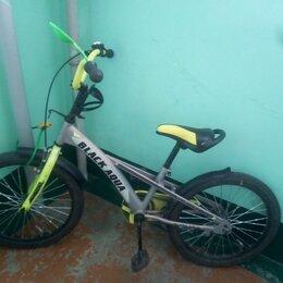 Велосипеды - Велосипед black aqua 18 velorun лимонный, 0