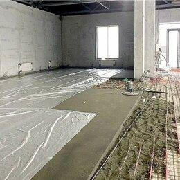 Строительные смеси и сыпучие материалы - Полусухая стяжка, 0