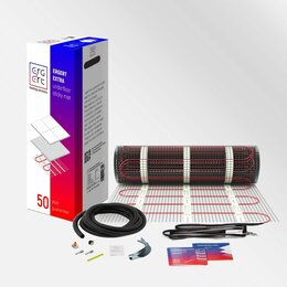 Электрический теплый пол и терморегуляторы - Ультратонкий, теплый пол, ERGERT MAT EXTRA ETME, (Германия),, 0