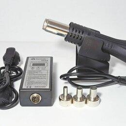 Прочее оборудование   - Портативная паяльная станция фен 8858, 0