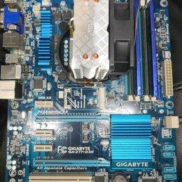 Материнские платы - Связка i7 3770+ 16GB DDR3 + GIGABYTE GA-Z77-DRH, 0