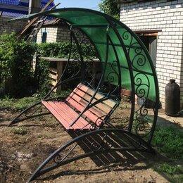 Садовые качели - Качели садовые с поликарбонатом, 0