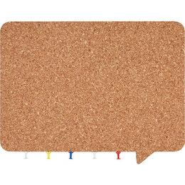 Информационные табло - Магнитная фигурная пробковая доска BoardSYS Чат, 0