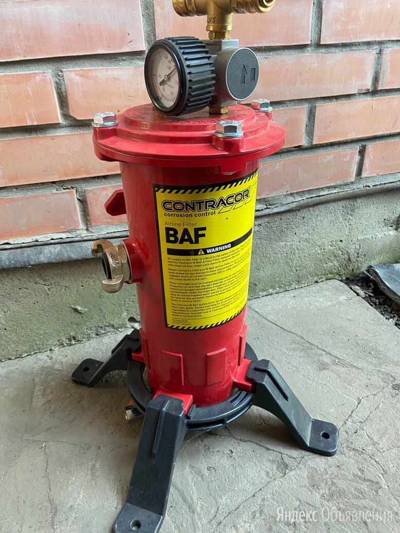 Фильтр очистки воздуха дыхания пескоструйщика CONTRACOR по цене 25000₽ - Промышленное климатическое оборудование, фото 0