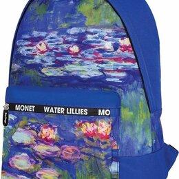 Рюкзаки - Рюкзак Berlingo Art «Водные лилии» 40*29*16см, 1отд, 1карм., 0