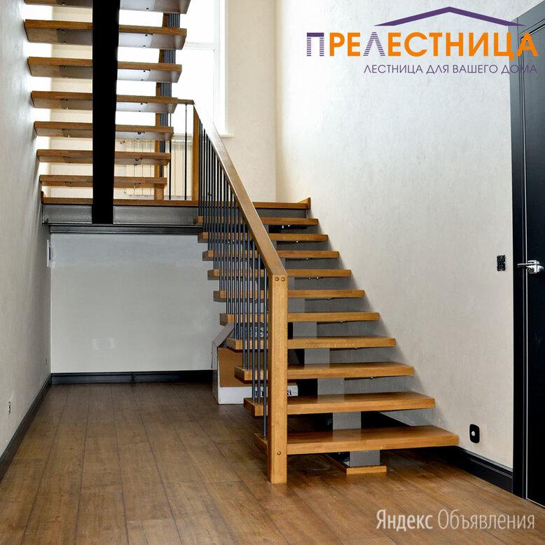 Лестница на монокосоуре с площадкой Ассоль 25 по цене 430000₽ - Входные двери, фото 0