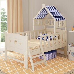 Кроватки - Подростковая кровать Giovanni Dommy Ivory, 0