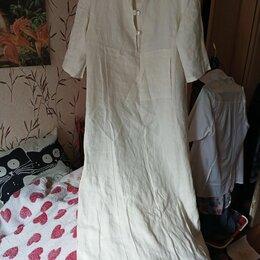 Платья - Платье льняное, 0