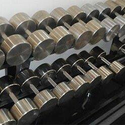 Гантели - Гантельный ряд, гантели 214,5 кг. Изгот. и др.вес, 0