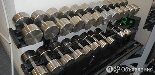 Гантельный ряд, гантели 214,5 кг. Изгот. и др.вес по цене 35393₽ - Гантели, фото 0