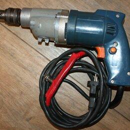 Дрели и строительные миксеры - Дрель электрическая двухскоростная иэ-1202А СССР, 0