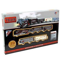 Детские железные дороги и автотреки - Железная дорога со светом арт.51543, 0