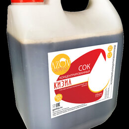 Ингредиенты для приготовления напитков -  Концентрированный сок Кизила  5 кг., 0