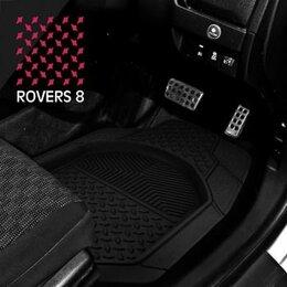 Подставки и держатели - Коврики а/м CarFort «Rovers 8», ванночка, к-т 4шт. black (1/4), 0