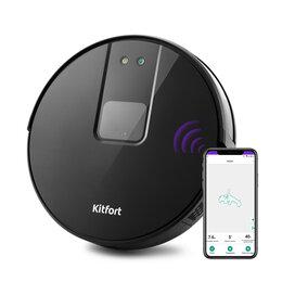 Роботы-пылесосы - Робот-пылесос KITFORT KT-572 , 0