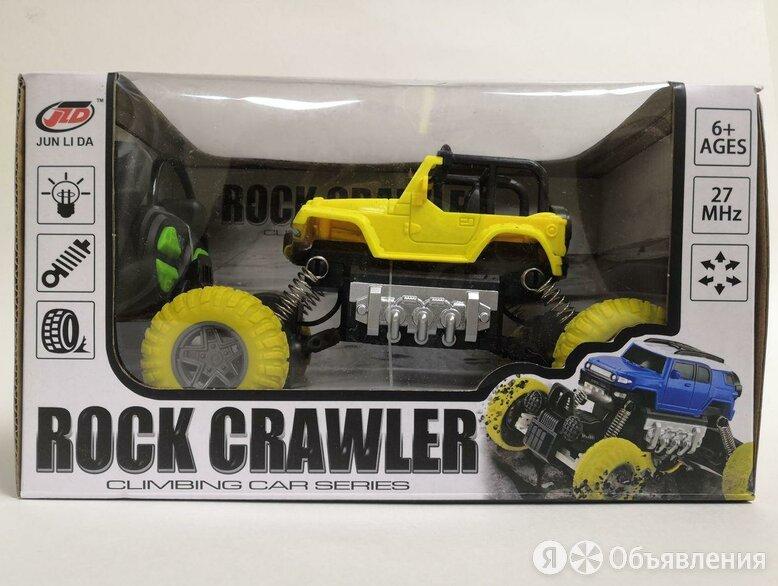Радиоуправляемая машина Rock crawler желтая по цене 900₽ - Радиоуправляемые игрушки, фото 0