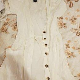 Платья - Платье на пуговицах, 0